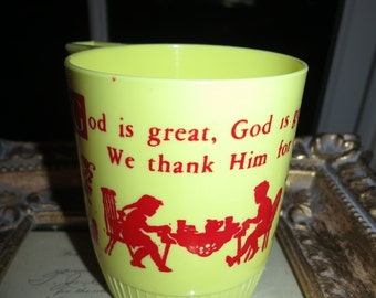 60's God is Good Kid's Cup