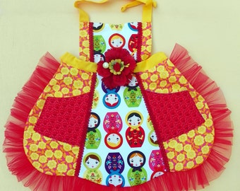 Matryoshka Doll  Apron