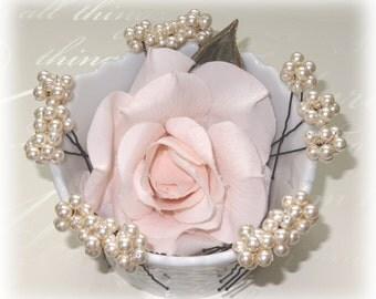 Set of 15 Hairpins Bridesmaids, Bridal Party Hairpins, Hair Pins, Pearl Hair Pins, Hair Accessories, Ivory Pearl Hair Pins