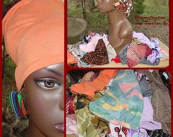 Natural Hair Accessories-Headbands-Tubes-One Dozen Assorted