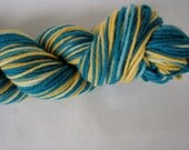 Knitcircus Harlequin DK 100% Superwash Merino Wool USA Made Color: Mediterranean Mosaic
