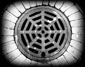 Chicago Sewer  - Original Signed Fine Art Photograph