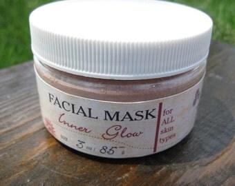 INNER GLOW Dry Face Mask - 3 oz for all skin types