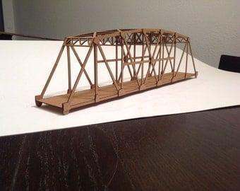 S scale - Bridge in a boX -  kit