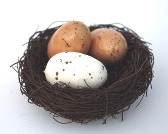 Shabby Cottage Chic Bird Nest