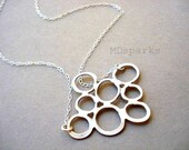 Silver Bubble Necklace