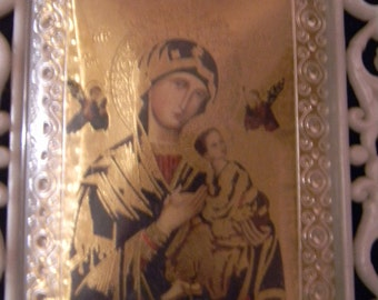 Vintage . Religious Small Wall Hanging