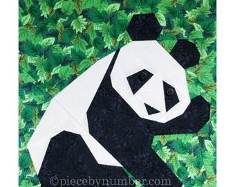 Panda - Rumpled Quilt Skins - 1 Pattern - RQS2007 Pattern
