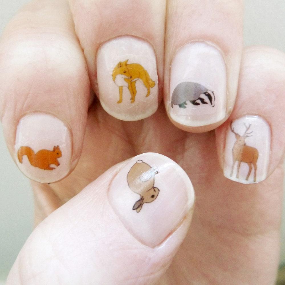 Nail Art Ideas » Deer Nail Art - Pictures of Nail Art Design Ideas