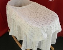 Knitting Pattern For Dolls Moses Basket : Unique baby moses related items Etsy