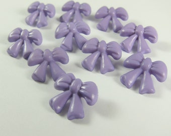 Lavender Ribbon Novelty Buttons