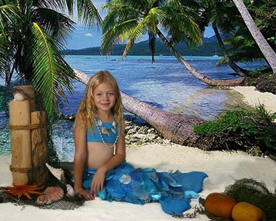 Child's Custom Luxury Mermaid Costume
