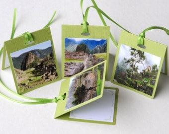 Photo Tent Gift Tags - Machu Picchu, Peru