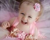 Blush Tulle Flower Girl T...
