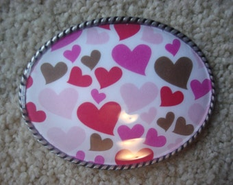 Be Mine Valentine Hearts - Add a Belt for only 8 Dollars - SALE
