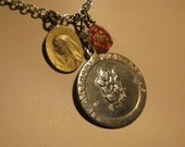 St. Anthony Religious Medal Necklace