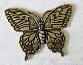 Brass Monarch Butterfly Finding 1187B