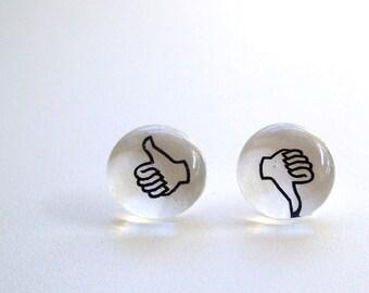 Thumbs Up/Thumbs Down Magnets/Push Pins