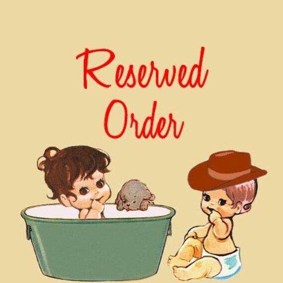 reserved for amanda