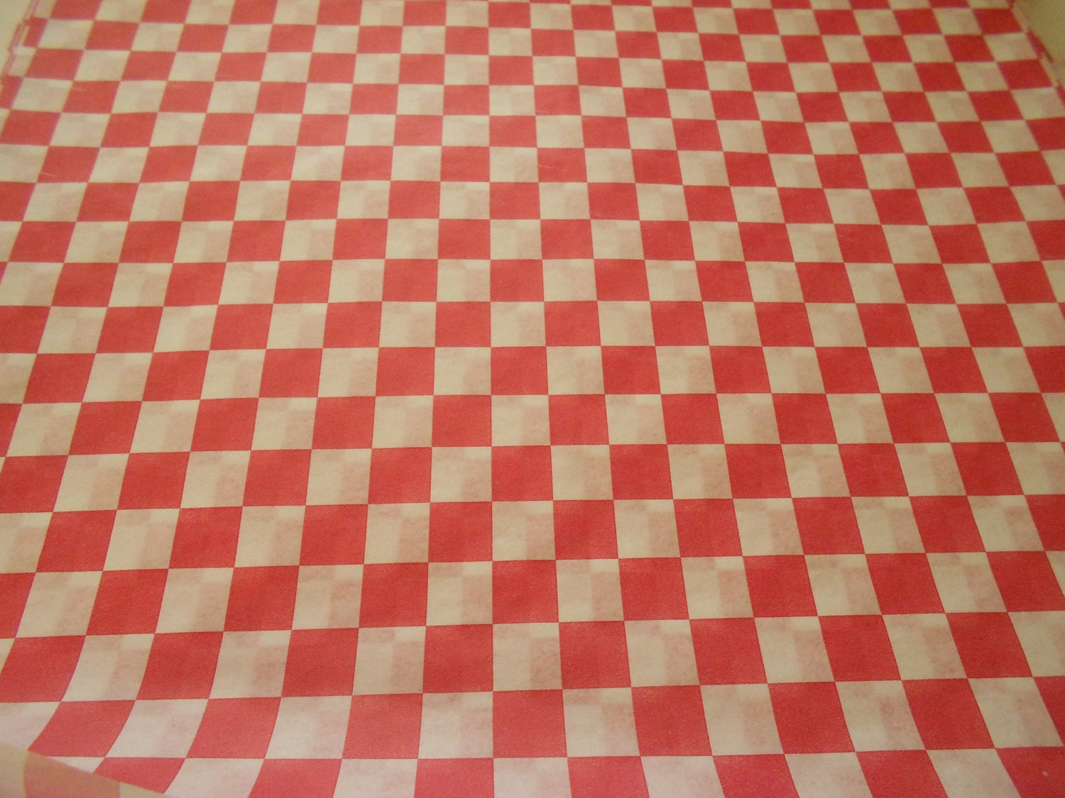 Checkered Wax Paper Checkered Waxed Paper Food
