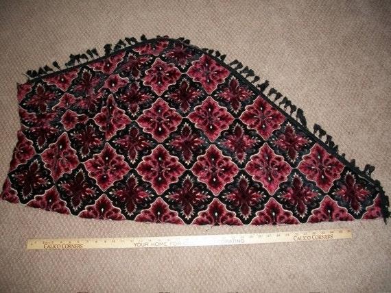 sale vintage cut velvet upholstery fabric the last pieces. Black Bedroom Furniture Sets. Home Design Ideas