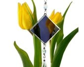 Stained Glass Suncatcher Purple or Color Choice