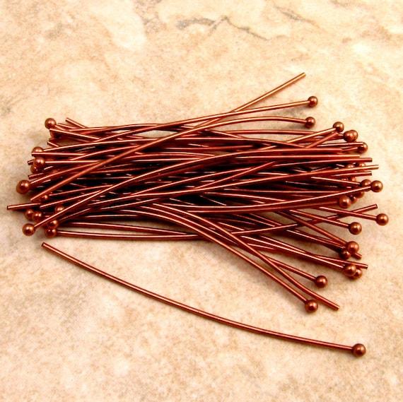 Ball Copper Headpins 34