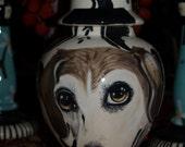 Custom PET URN for dogs beagle any breed and cats MEDIUM