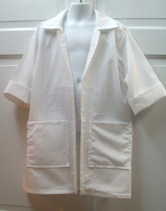 Doc McStuffin Inspired Medical Lab Coat Perfect  Dress For Dress Up or That Special Birthday Party Custom Made to Order 2T- 6