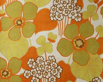 Seventies vintage wallpaper - 1 roll