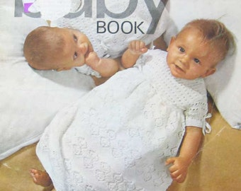 Vintage Patons Baby Knitting Book
