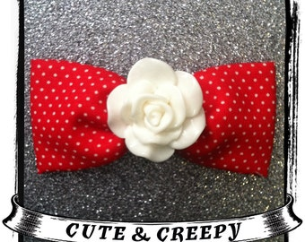 Paint The Roses Hair Clip