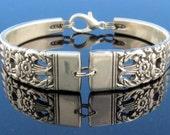 Spoon Bracelet (Small Medium Large) Silver Coronation