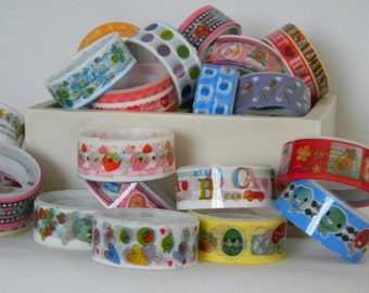 5 Randomly selected Kawaii Deco Tape