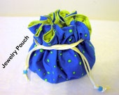 jewelry drawstring pouch 9 organizer pockets gift