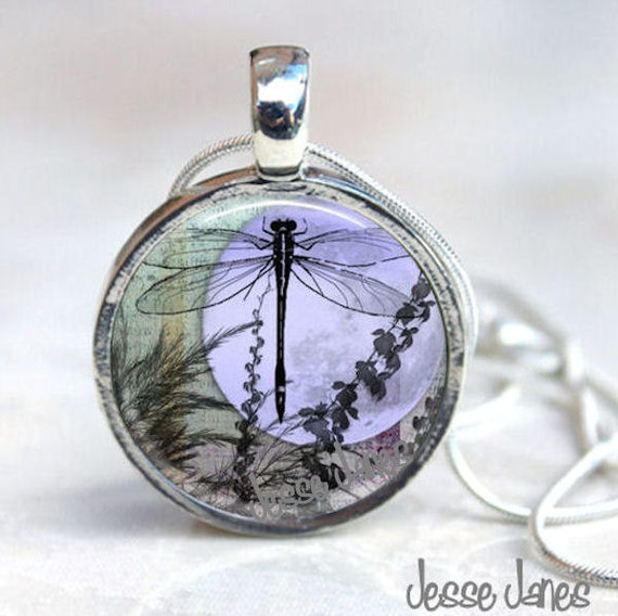 magnetic necklace interchangeable dragonfly necklace by