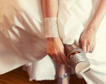 Bridal cuff bracelet , wedding bracelet , wedding jewelry , silver cuff bracelet , vintage style bracelet , wide bracelet , silver bracelet