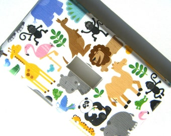 Light Switch Cover Switchplate -- Baby Zoo Safari