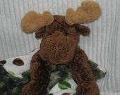 Security Blanket, baby blanket, luvi, lovie - moose lovems - reserved for Michelle
