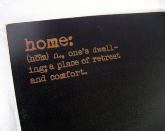 Frameless Home Chalkboard - Home Defined - Item 1488