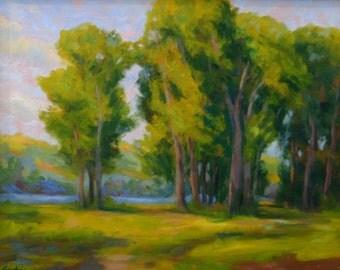 Original Oil Painting SUMMER BREEZE 16x20
