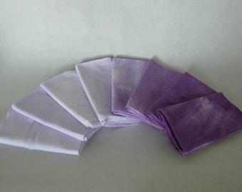 Fat Quarter bundle, Grape Purple, 8 pieces