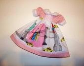 Blythe Doll Dress,  Pink, Blue, Gray, White, Yellow, Red, Black, Aqua, Brooklyn Bridge, Statue Of Liberty, New York Blythecon
