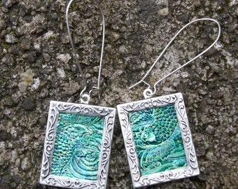 Oriental Fish earrings