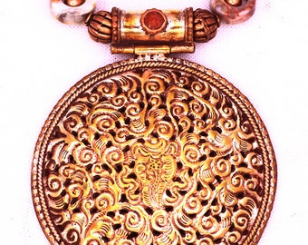 Nepalese Copper w/Sacred Chank
