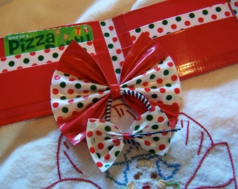 most adorable duct tape wallet and bows