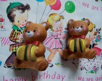 two tiny twin bears