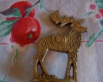 dept 56 brass reindeer