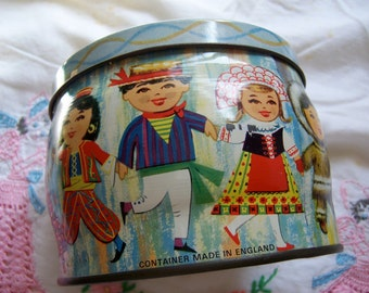 children from many lands tin