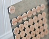 Perpetual Calendar Magnets - Months, Days of week, Days included - Set of 50
